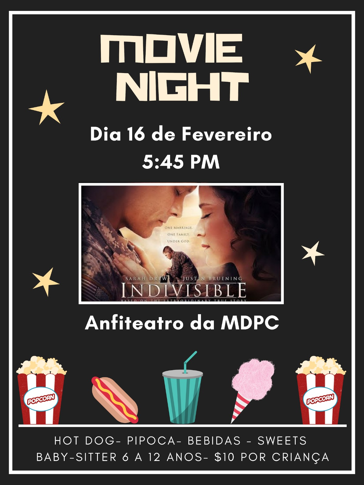 Movie night invite